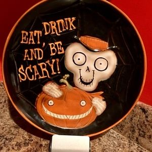 Collectible Yankee Candle Halloween Platter